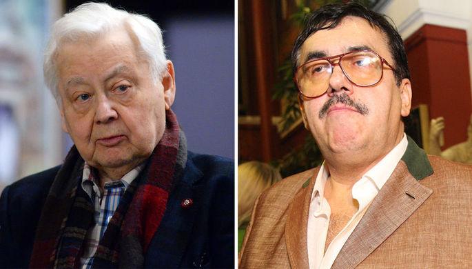 Олег Табаков и Станислав Садальский (коллаж)