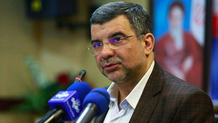 Заместитель министра здравоохранения Исламской Республики Иран Ирадж Харирчи