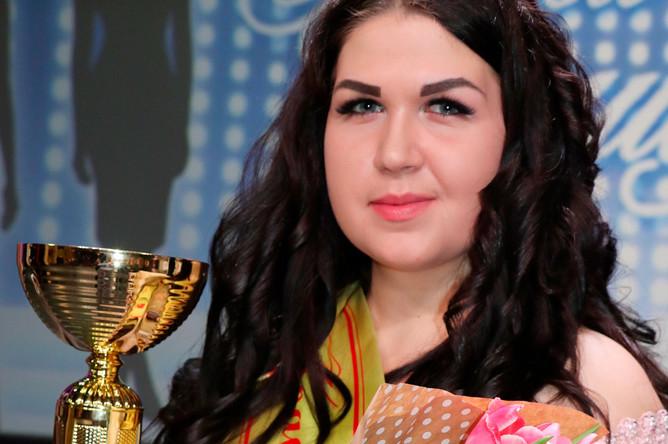 Победительница конкурса «Краса полиции» в Курской области Ирина Ходыревская