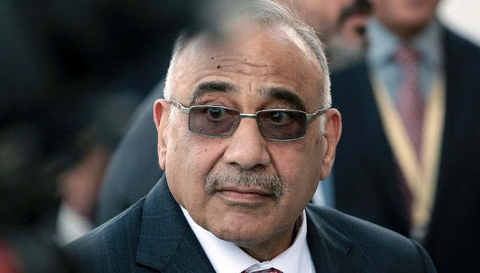 Экс-премьер Ирака Адель Абдель Махди