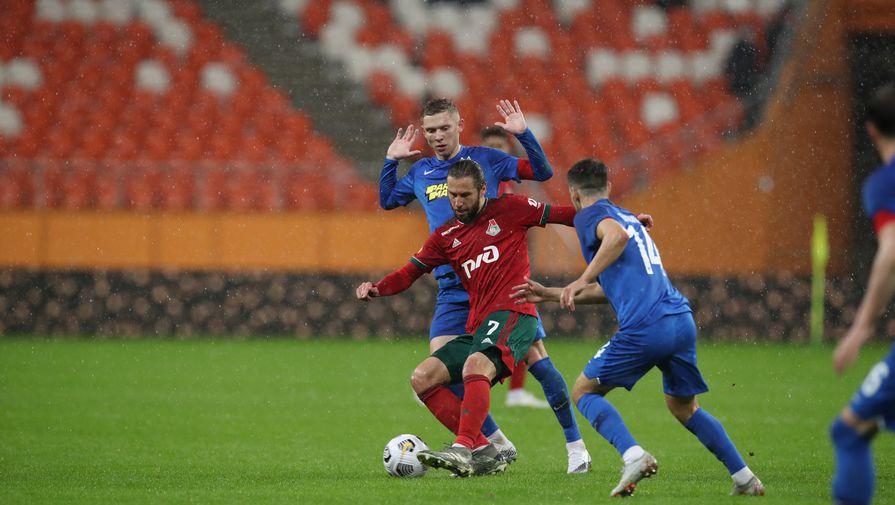 Эпизод матча «Тамбов»- «Локомотив»