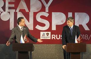 Накануне комиссия ФИФА была в Санкт-Петербурге