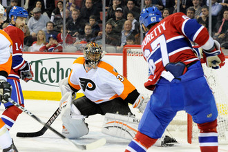 Илья Брызгалов не спас «Филадельфию» от проигрыша «Монреалю»