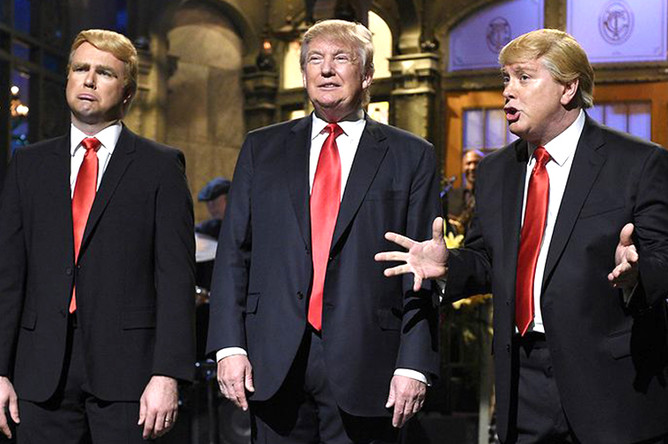 На шоу Saturday Night Live