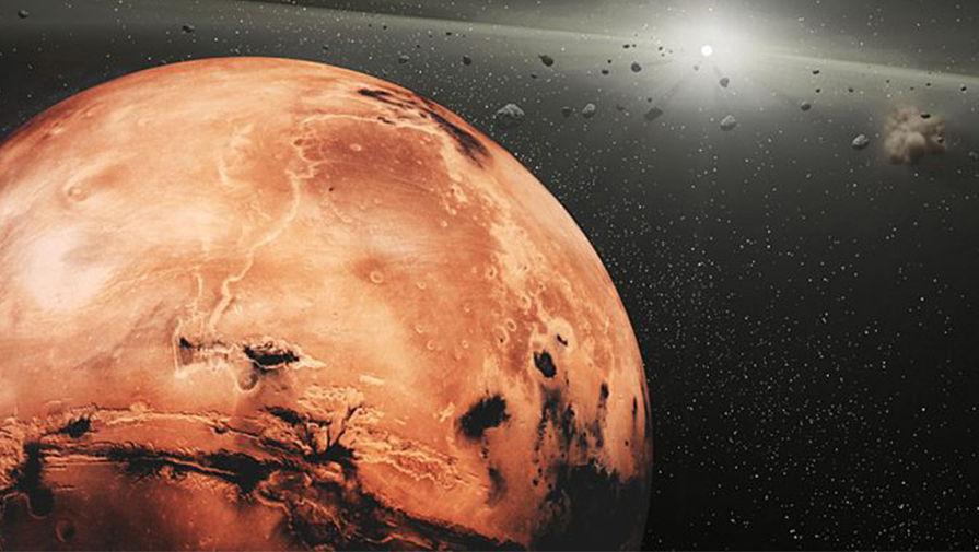 На Марсе обнаружены остатки погибшей планеты