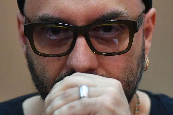 Режиссер, художественный руководитель театра «Гоголь-центр» Кирилл Серебренников в Басманном суде Москвы, 18 июля 2018 года