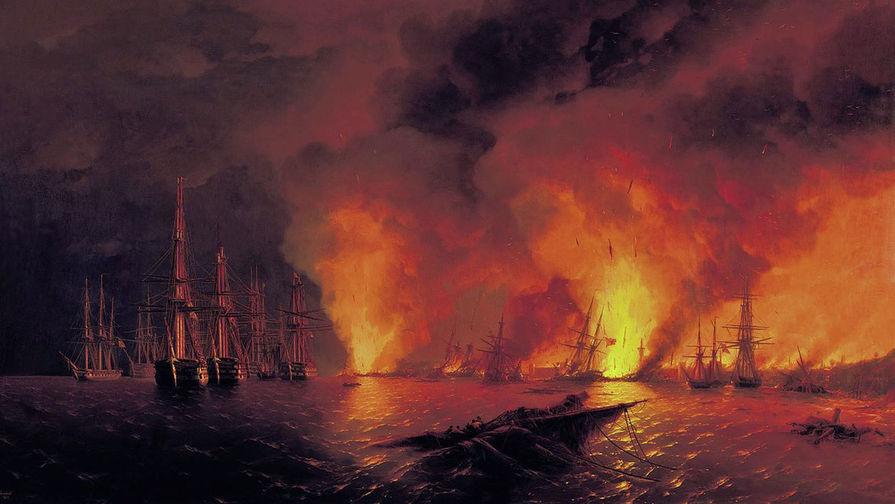 165 лет назад русские разгромили турок в Синопской битве