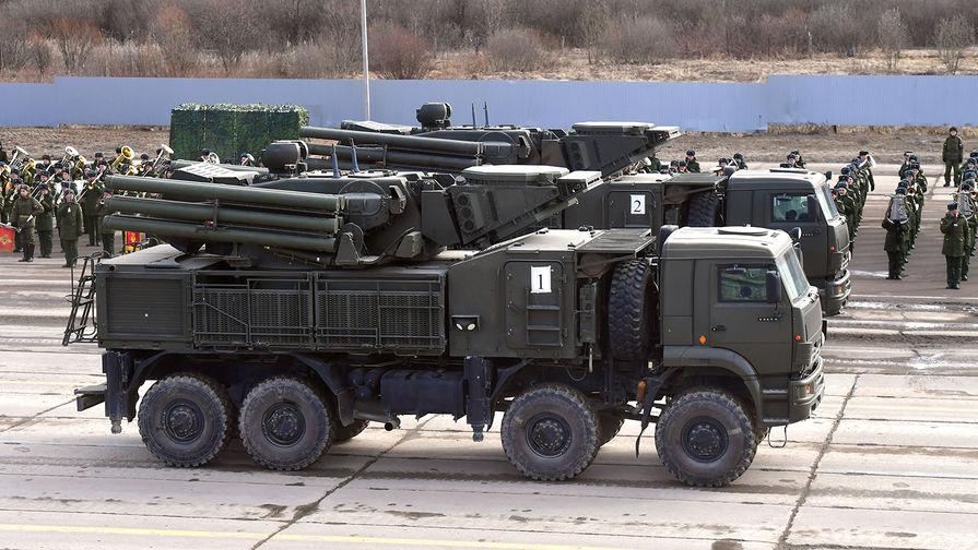 Зенитный ракетный-пушечный комплекс «Панцирь-С»