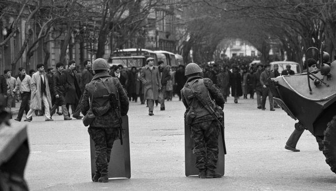 20 января 1990 года. Войска на улицах Баку. Соколов Дмитрий