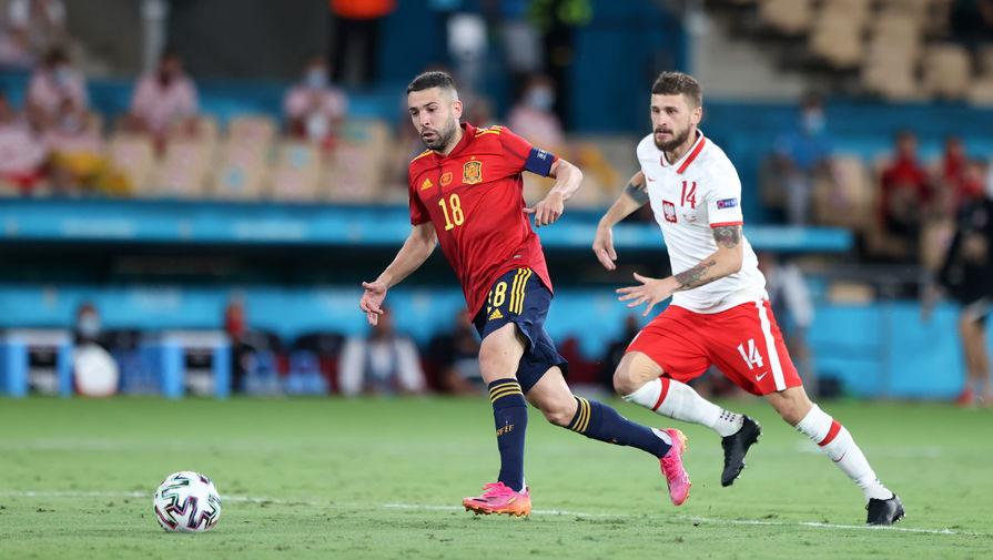 Защитник сборной Испании Альба признан лучшим игроком матча с Польшей