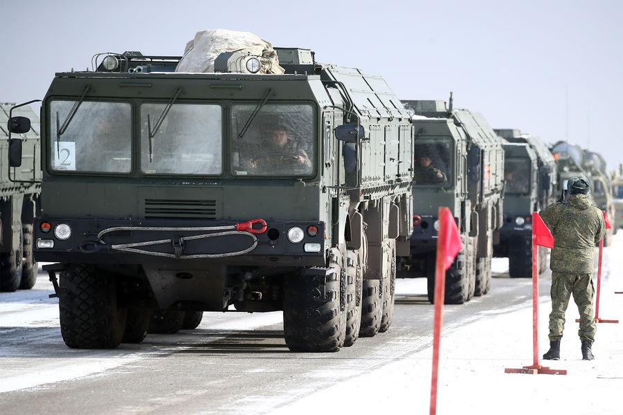 Оперативно-тактический ракетный комплекс (ОТРК) «Искандер-М»