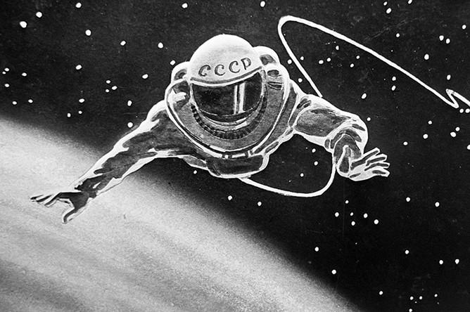 рисунки космонавта леонова про космос пленкин новости, интервью