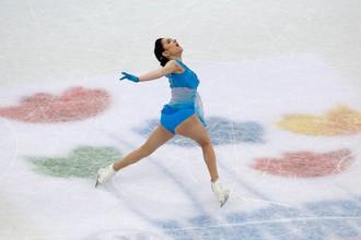 Евгения Медведева победила в короткой программе на ЧМ в Хельсинки