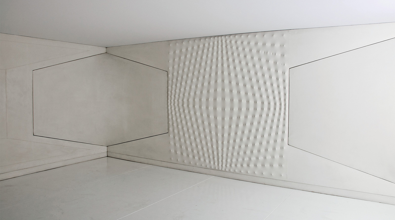 Энрико Кастеллани. Spazio Ambiente, 1970