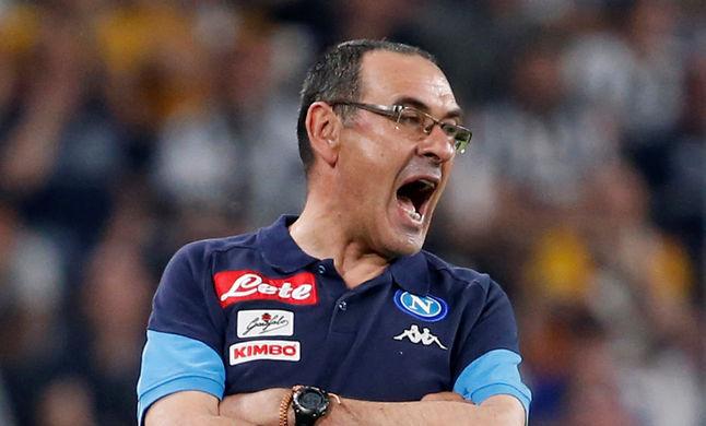 Главный тренер «Наполи» Маурицио Сарри