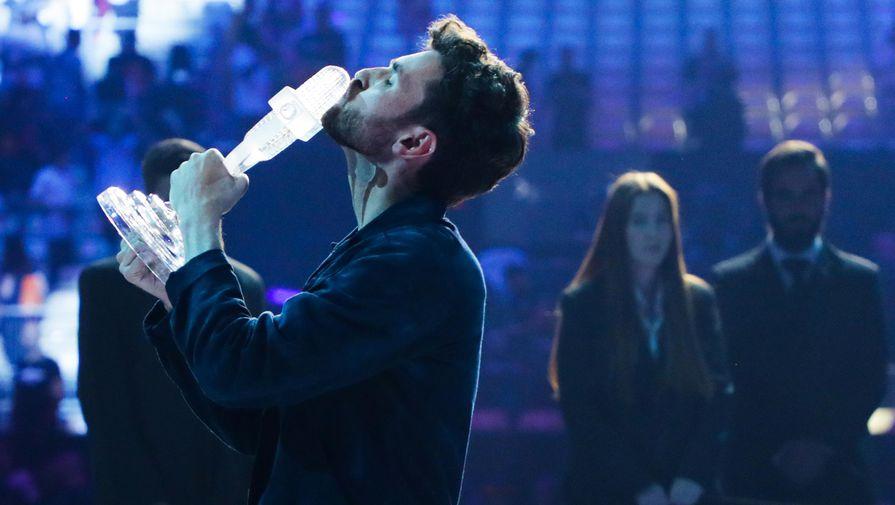 Певец из Нидерландов Дункан Лоуренс, победивший в финале 64-го международного конкурса песни «Евровидение-2019»