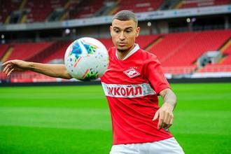 Йордан Ларссон стал новичком «Спартака»