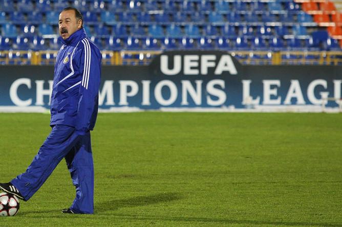 Главный тренер киевского «Динамо» Валерий Газзаев, 2009 год
