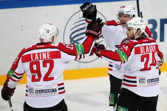 «Донбасс» одолел СКА в очередном матче регулярного чемпионата КХЛ