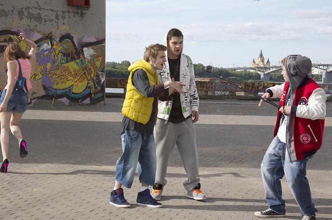 Кадр из фильма «Выпускной»