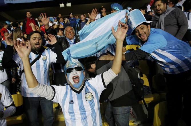 Аргентинские болельщики