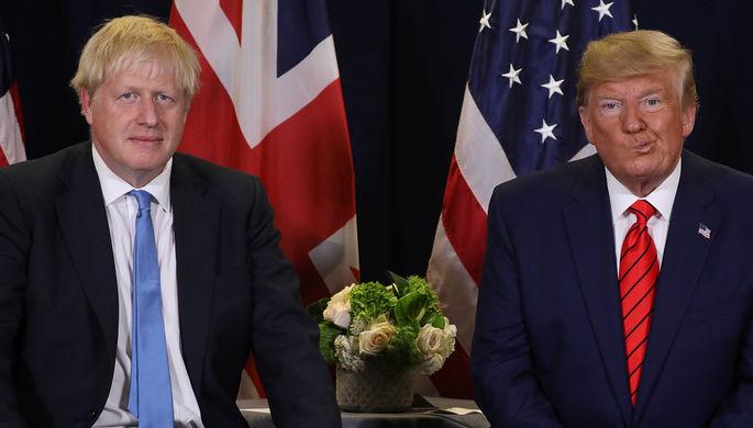 Дружбе конец: Борис Джонсон стесняется Дональда Трампа