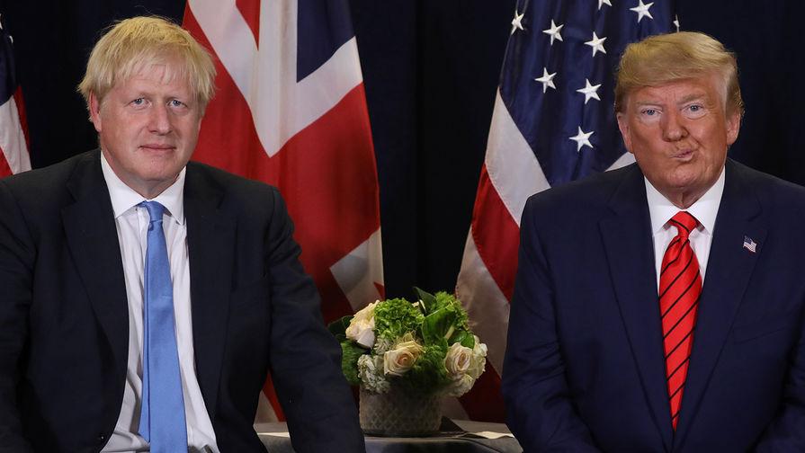 Корбин обвинил Трампа во вмешательстве в выборы в Великобритании