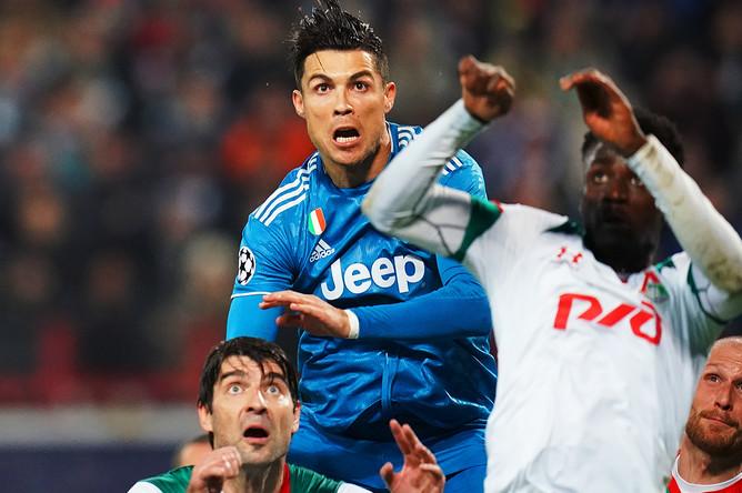 Во время матча группового этапа Лиги Чемпионов УЕФА между ФК «Локомотив» и ФК «Ювентус», 6 ноября 2019 года