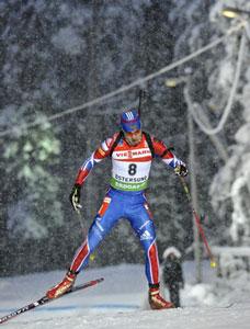 Антон Шипулин мог побороться за подиум, если бы не сломанная лыжа