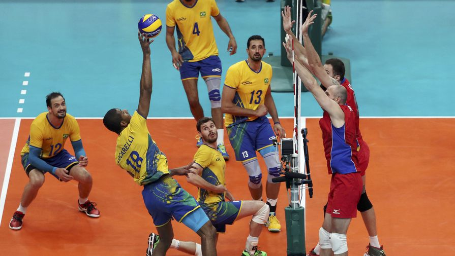 Волейбол мужчины бразилия россия рио [PUNIQRANDLINE-(au-dating-names.txt) 21