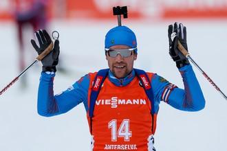 Алексей Слепов победил в мужском спринте на чемпионате России по биатлону в Увате