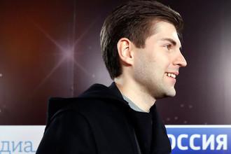 Телеведущий Дмитрий Борисов перед началом церемонии вручения премии «ТЭФИ- 2017»