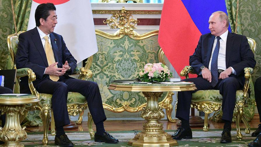 В Японии пообещали решить проблему мирного договора руками Абэ и Путина