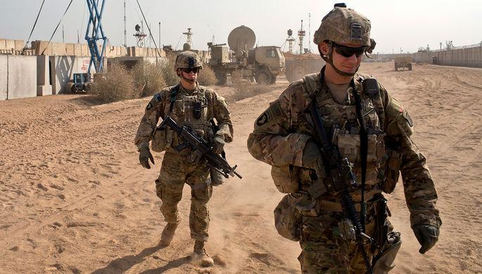 Военнослужащие США в Ираке