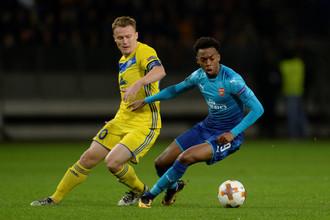 БАТЭ принимает в домашнем матче Лиги Европы «Арсенал»