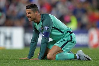 Гол в ворота Андорры стал 79-м для Криштиану Роналду за сборную Португалии