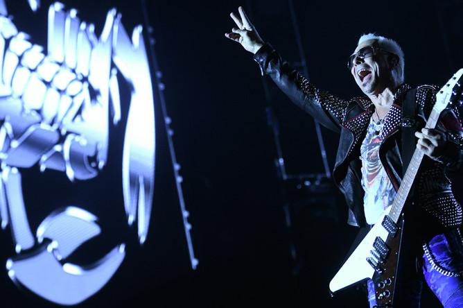 Гитарист группы Scorpions Рудольф Шенкер