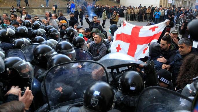 Протесты в Грузии, ноябрь 2019 года