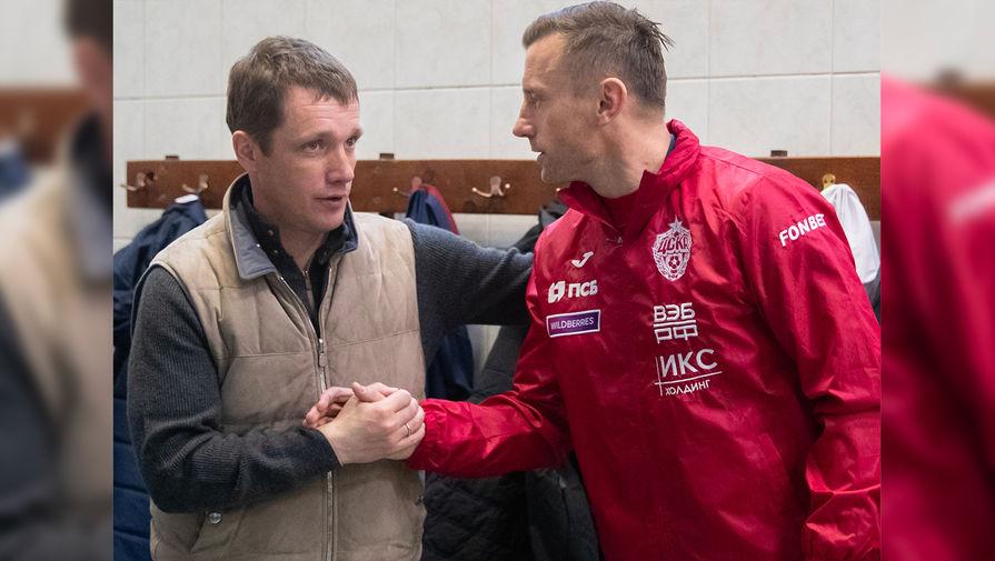 Виктор Гончаренко и Ивица Олич