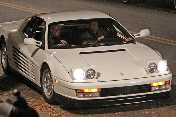 1989 Ferrari Testarossa на съемках фильма «Волк с Уолл-стрит» (2013)