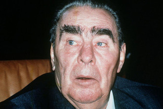 Генеральный секретарь ЦК КПСС Леонид Брежнев, 1981 год