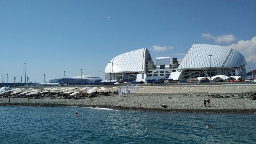 Футбольный стадион «Фишт» в Сочи