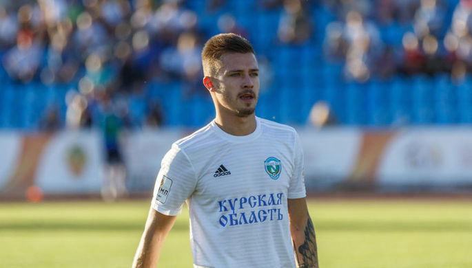Игрок курского «Авангарда» Дмитрий Коробов