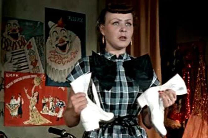 Кадр из фильма «Укротительница тигров», 1954 год