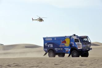 Команда «КАМАЗ-Мастер» выиграла четвертый этап «Дакара»