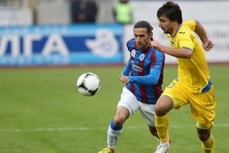 Два точных удара Артура Саркисова помогли «Волге» обыграть «Ростов»