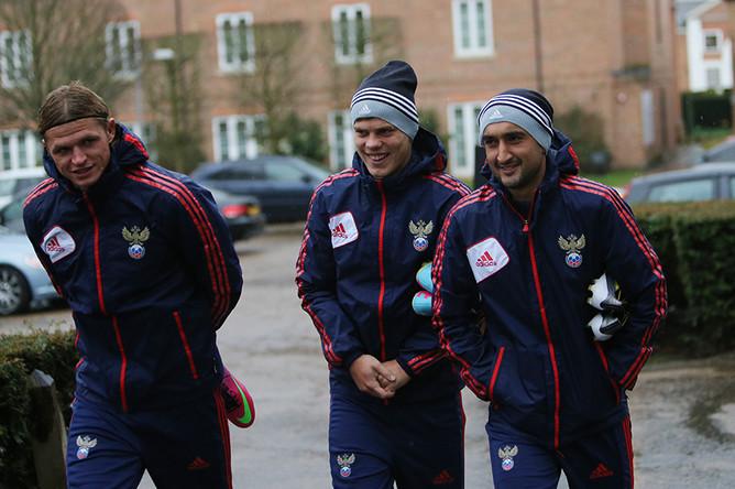 Слева направо: Дмитрий Тарасов, Александр Кокорин и Александр Самедов