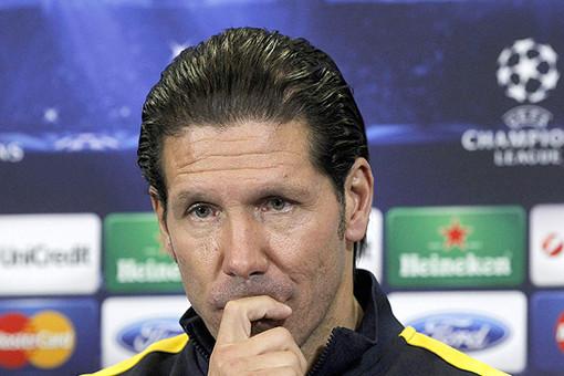 Главный тренер мадридского «Атлетико» Диего Симеоне готовится к матчу против «Зенита» в рамках группового этапа Лиги чемпионов.
