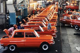 Автозавод «Коммунар» в Запорожье, 1982 год