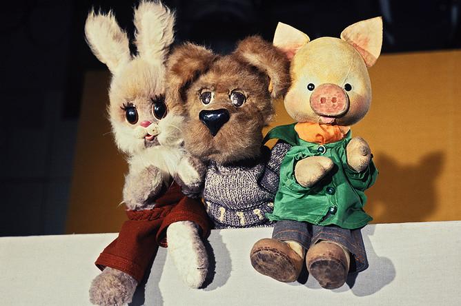 Степашка, Филя и Хрюша, 1979 год